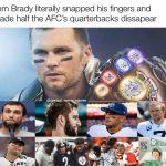 Tom Brady Thanos