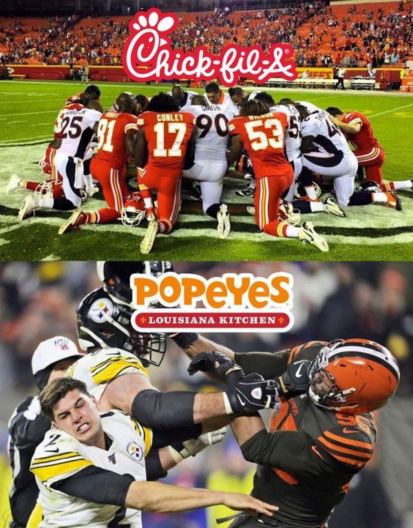 Chick Fil A vs Popeyes