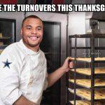 Dak Thanksgiving Turnovers