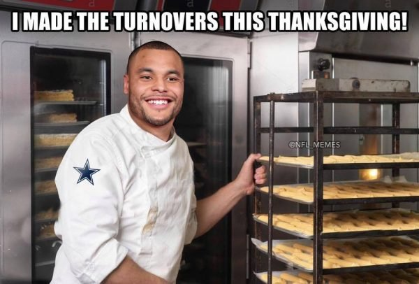 Dak Thanksgiving Turnovers