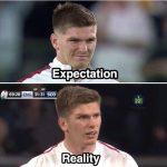 England Expectation vs Reality