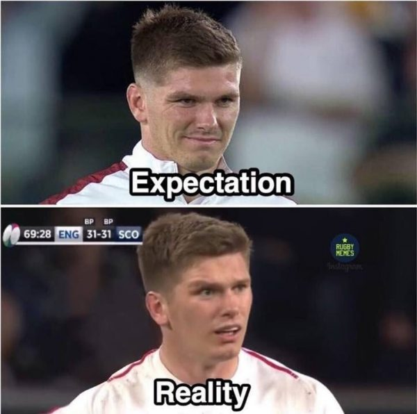 England Expectation vs Reality