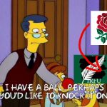 England Knock On