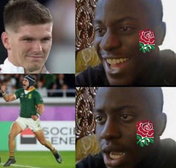 England fans suddenly sad