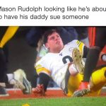 Mason Rudolph Suing Myles Garrett