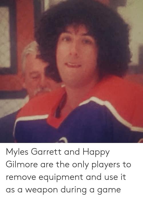 Myles Garrett Happy Gilmore