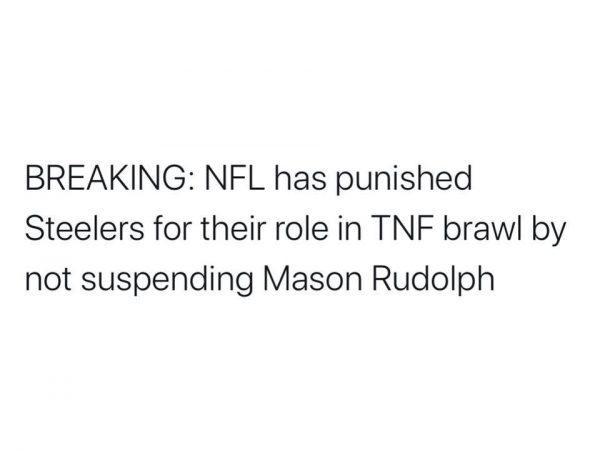 NFL Punishment