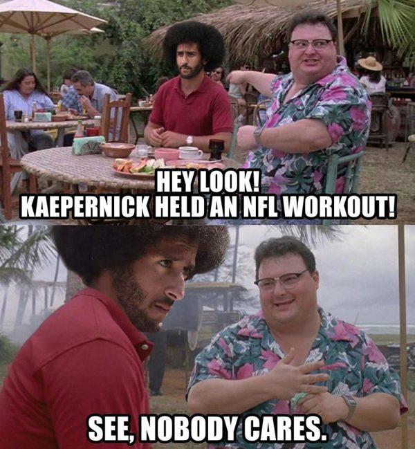 Nobody Cares About Kaepernick