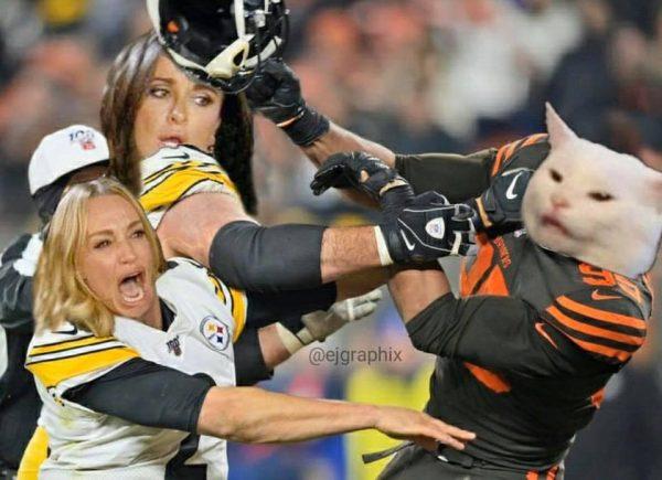 Mason Rudolph Smashed Head