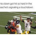 Signaling a Touchdown
