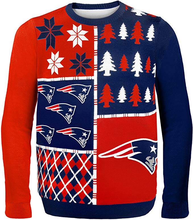 New England Patriots - NFL Mens Ugly Sweater