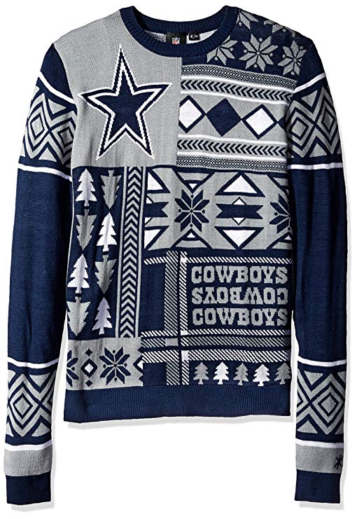 Dallas Cowboys - NFL Mens Ugly Sweater