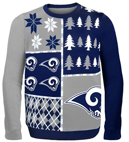 NFL LA Rams Men's Ugly Sweater