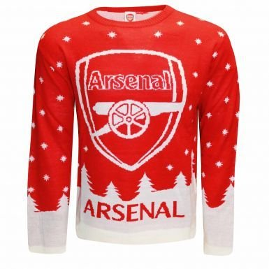 This image has an empty alt attribute; its file name is arsenal-ugly-christmas-sweaters.jpg