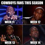 Cowboys Fans Kevin Hart Meme