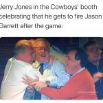 Jerry Jones Celebrating