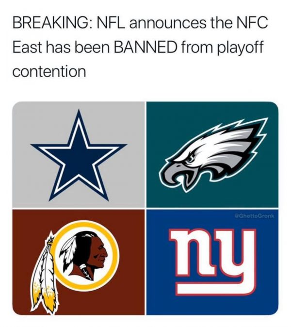NFC East is Banned