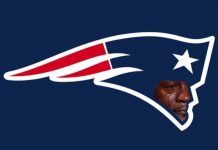 Patriots Logo Crying Jordan