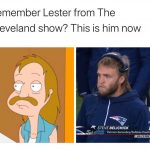 Steve Belichick is Lester