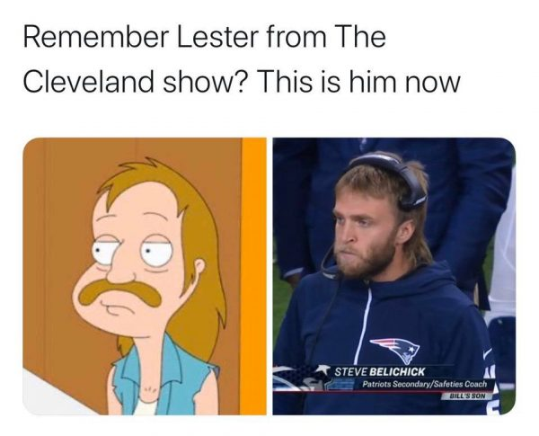 Steve Belichick is Lester