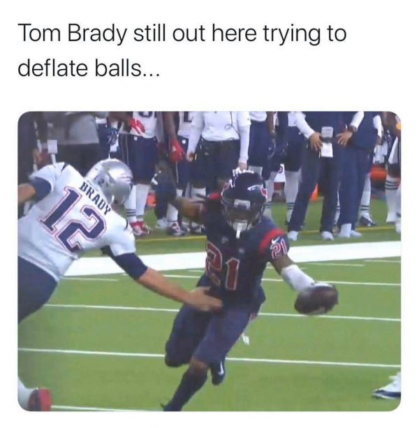 Tom Brady Dirty Touching