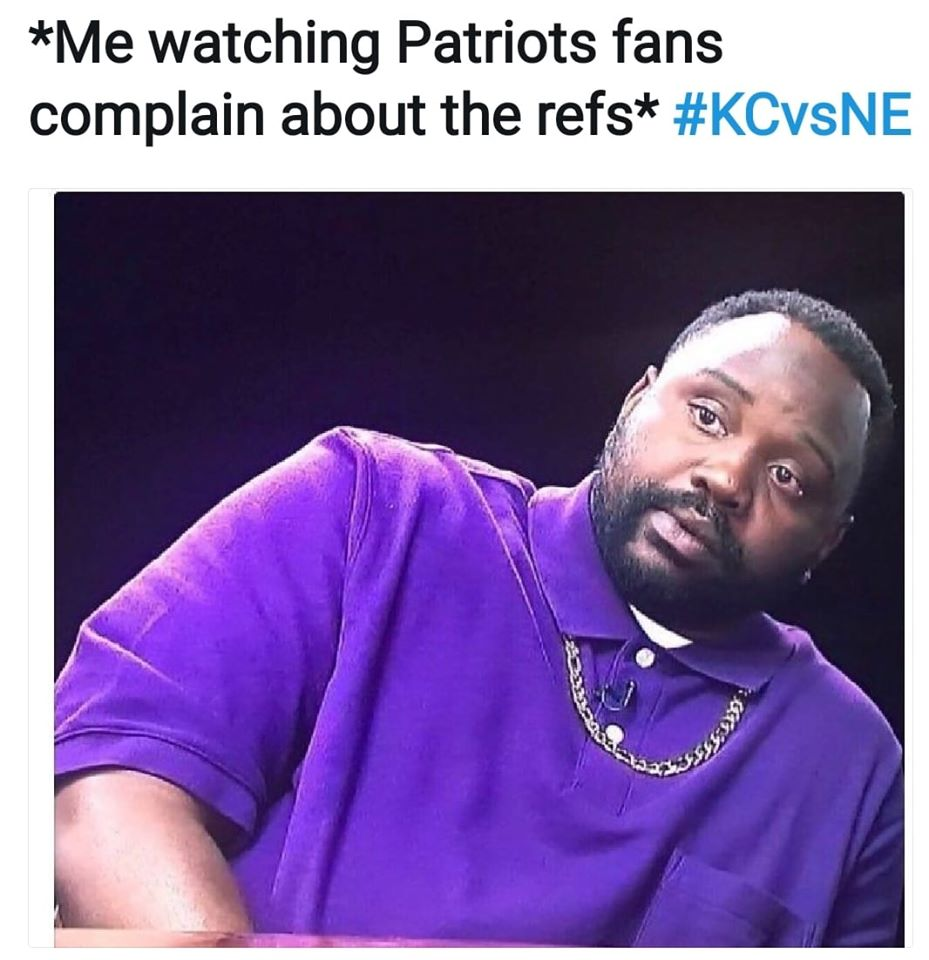 stop whining patriots fans meme