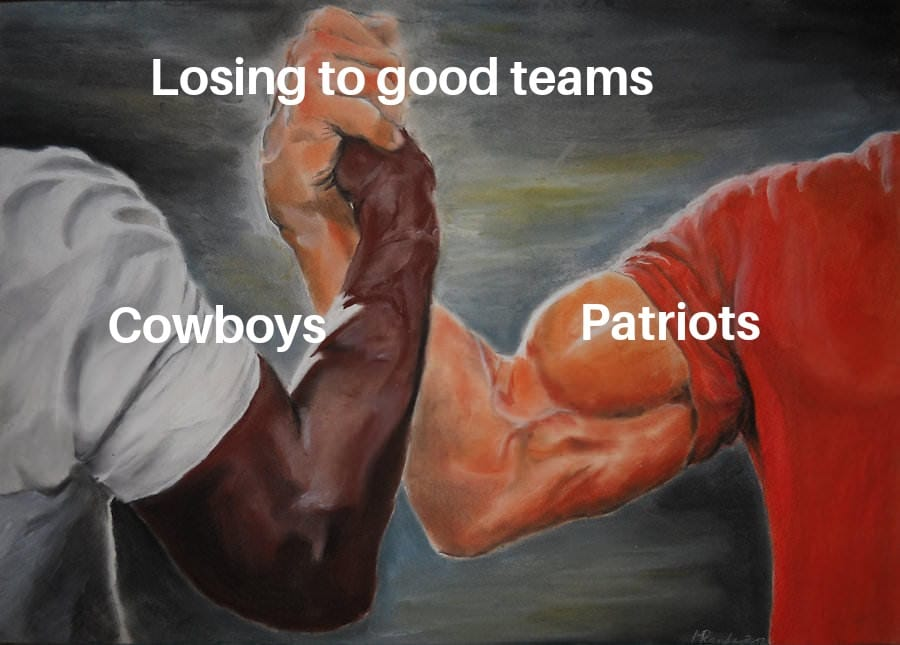 patriots cowboys meme
