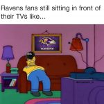 Angry Ravens Fans