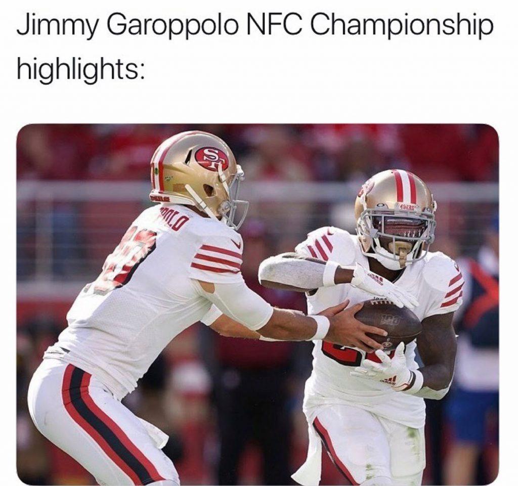 Jimmy Garoppolo funny meme