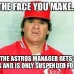 Pete Rose Face