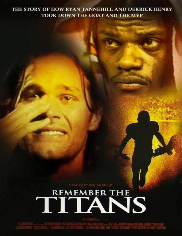 17 Best Memes Of Derrick Henry The Tennessee Titans Bulldozing Lamar Jackson The Baltimore Ravens Sportige