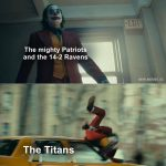 The Titans Joker Meme