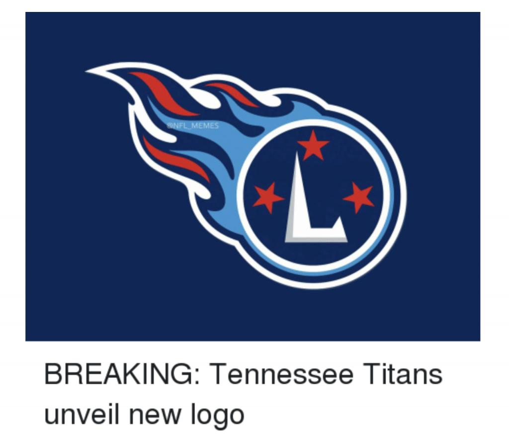 Titans new logo funny meme