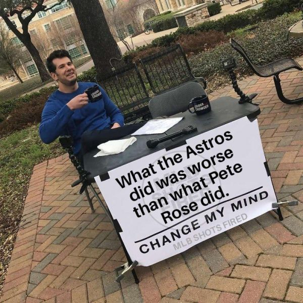 The Astros Stole My Sign