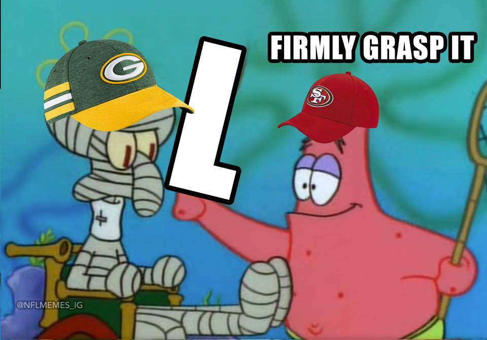 Packers are losers Meme