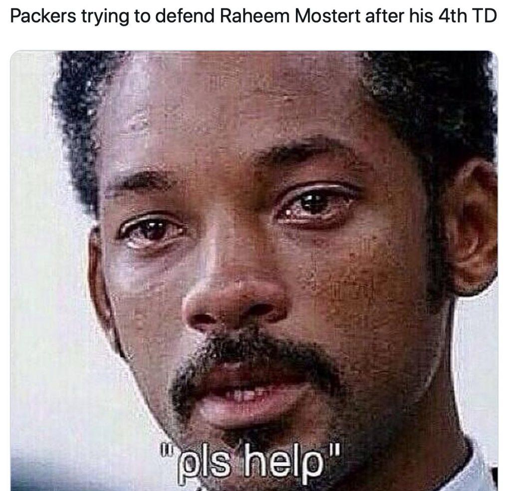 Raheem Mostert funny meme