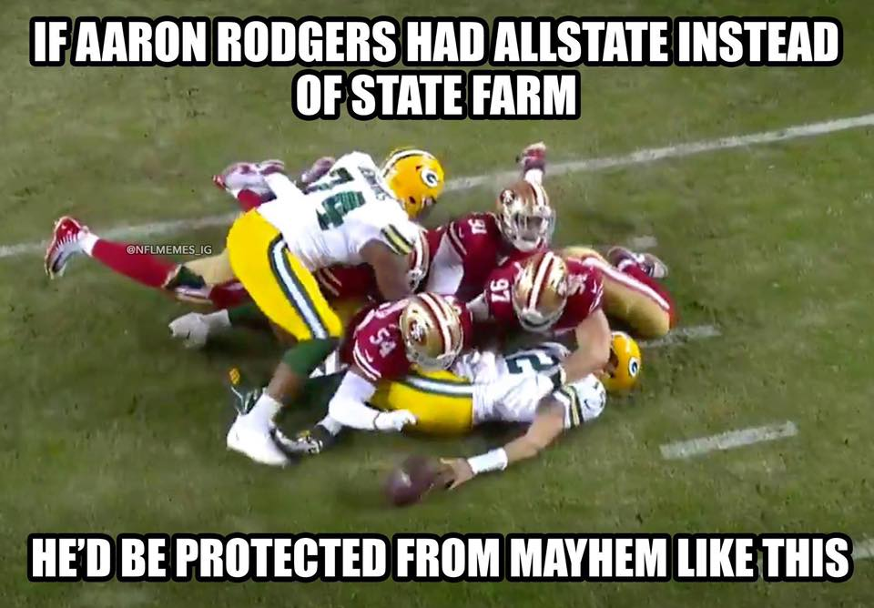 Funny Aaron Rodgers Meme