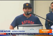 Astros Cheater
