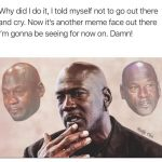 Michael Jordan talking about Crying Jordan