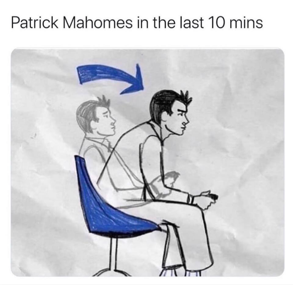 Patrick Mahomes MVP meme