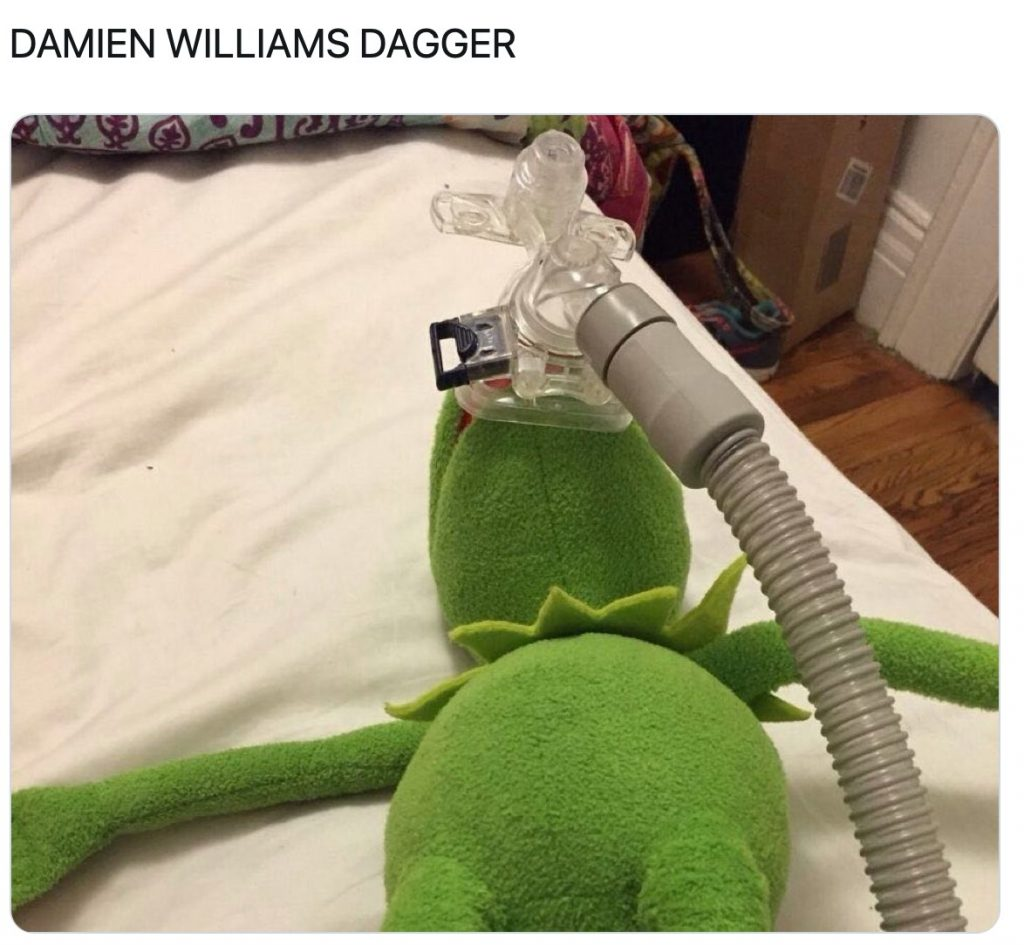 Damien Williams Dagger