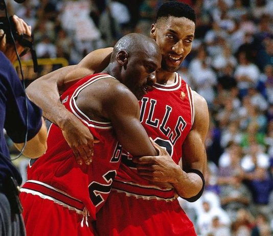 Michael Jordan, Scottie Pippen, Flu Game