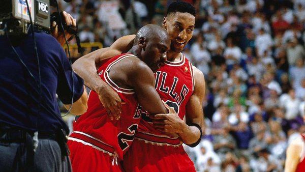 Michael Jordan, Scottie Pippen, Flu Game