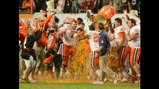 Dabo Gatorade bath