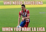 David Villa doesn't need Barca