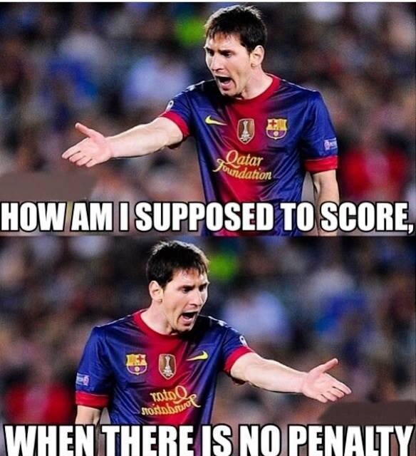 Angry Messi