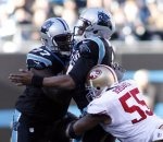 Cam Newton, Ahmad Brooks