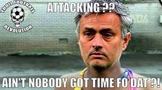attack 12 Memes of Chelsea & Jose Mourinho Parking the Bus