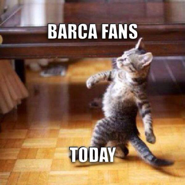 Barca fans today