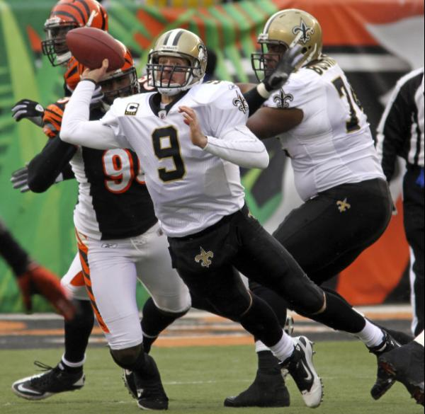 december 5 2010 Biggest Games in Drew Brees Touchdown Streak